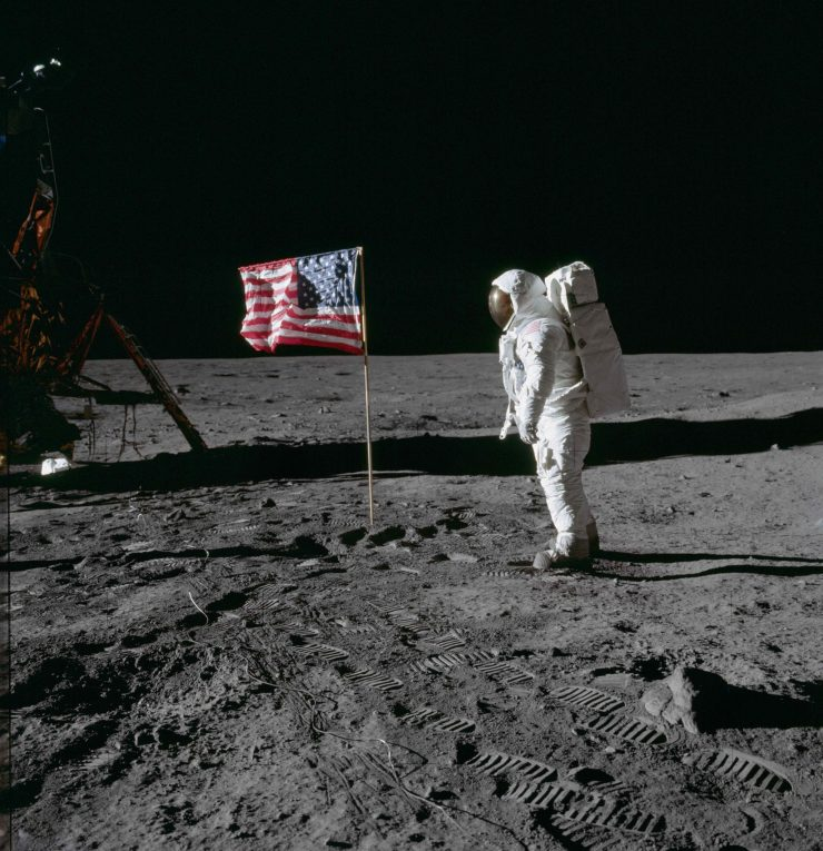 Astronaut-Buzz-Aldrin-poses-for-photograph-beside-deployed-U.S.-flag-?-NASA--740x765.jpg