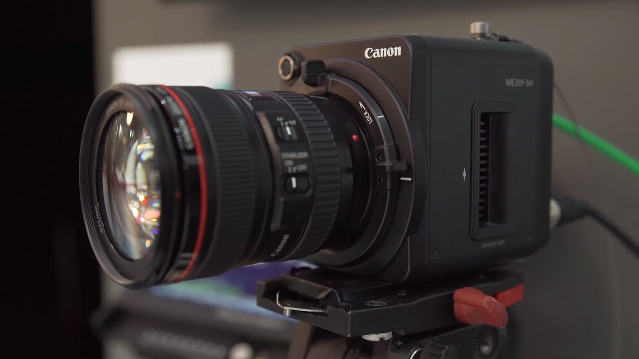 Newsshooter at IBC 2015- Canon ME20F-SH low light camera 'sees' in the.jpg
